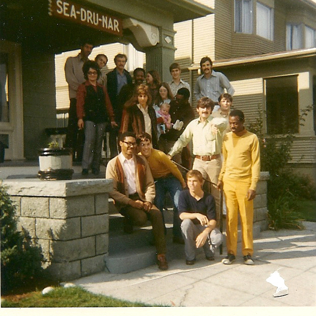 The staff of Seadrunar, the year we opened in 1968.